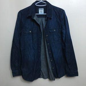 Old Navy Jeans Denim Button Down Shirt